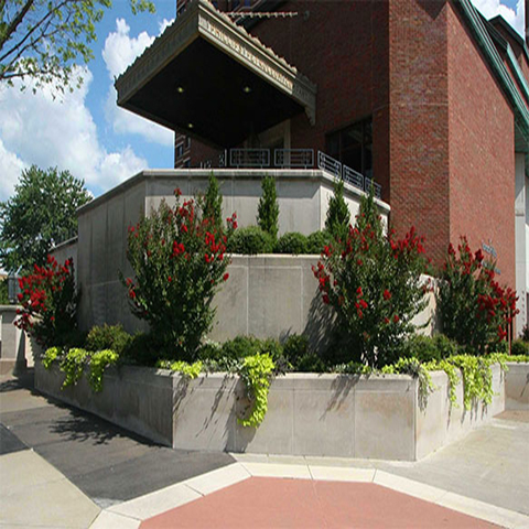 Downtown Bartlesville, OK Landscaping Project